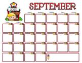 September 2020 Calendar Pack