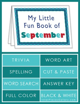 My Little Fun Book of September Helps Reinforce the Months of the Year