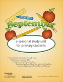 September 32-Page Lesson Plan Booklet