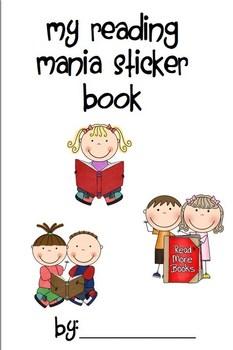 3rd Grade Reading Mania Sticker Book