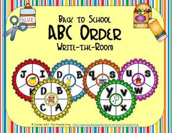ABC Order: Letters Edition (September)