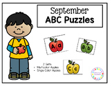 September ABC Puzzles