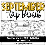 September Activities Flip Book