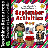 September Activities and Printables (Upper Elementary)
