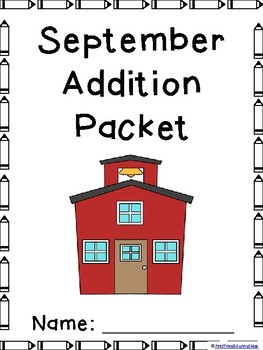 September Addition and Subtraction Worksheet Packets {Just Print & Go!}