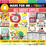 September: All About Apples (Activities for First Day/ Wee