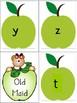 September Alphabet Cards