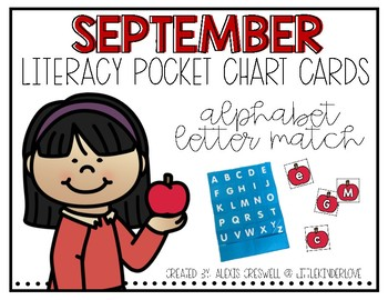 September Alphabet Pocket Chart Fun