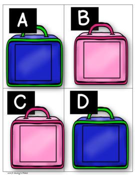 September Alphabet Recognition Centers