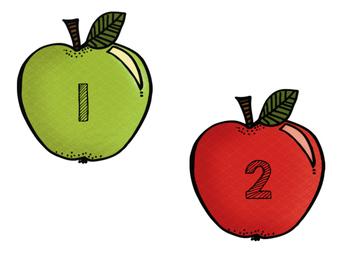 September Apple Calendar Numbers