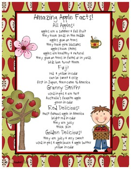 September Apple Writing for Explanatory & Narrative Stories That Shine!