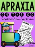 September Apraxia On the Go