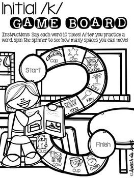 September Articulation Game Boards