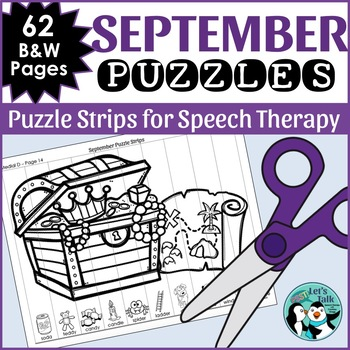 September Articulation Puzzles