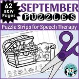 September Articulation Puzzles