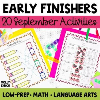 Early Finishers - September
