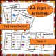 September Back to School Classroom Objects Word Wall Activities English Version!