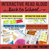 Back to School-Interactive Read Aloud Bundle