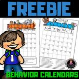September Behavior Calendar (EDITABLE) 2018-2019