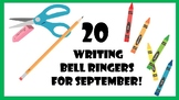 September Bell Ringers for Middle School and High School