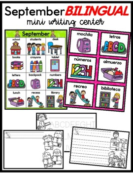 Bilingual September Words For The Month