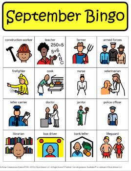 September Bingo