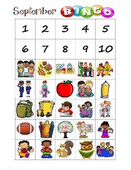 September Bingo Bundle
