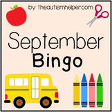 September Bingo Game! Great for Back to School!