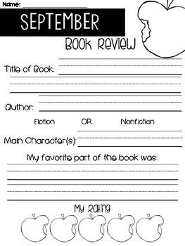 September Book Reviews