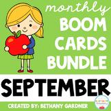 September Boom Cards BUNDLE - Apples - Boom Cards - Distan