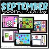 September Boom Cards / Morning Work for Distance Learning