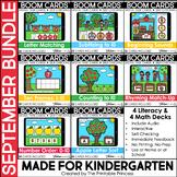 September Boom Cards™ for Kindergarten: Apple Theme Bundle