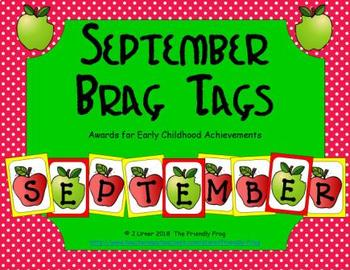 September Brag Tags