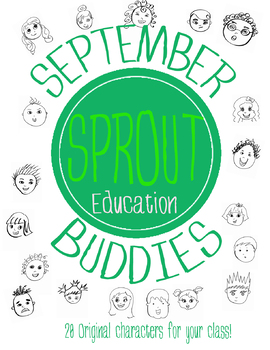September Buddies! Back-to-school characters!