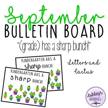September Bulletin Board Display