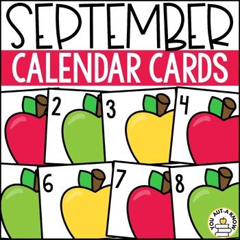 September Calendar EXPANSION PACK