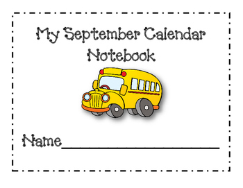 September Calendar Journal Pages *New for 2016*