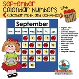 Calendar Keepers for September | Math Activities | Daily Calendar Page