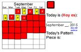 September Calendar Math
