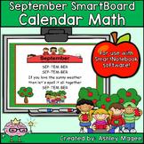 September Calendar Math/Morning Meeting for SMARTBoard