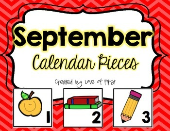 September Calendar Pieces