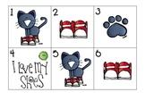 September Calendar Pieces: Cute Kitty Cat