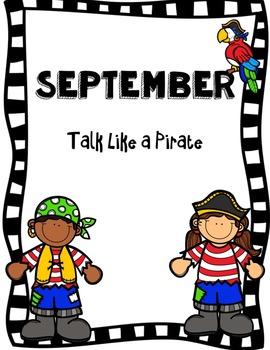September Centers (Pirate Theme)