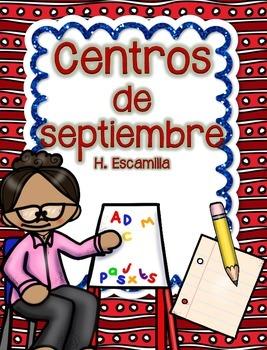 September Centers in Spanish