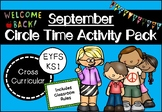 September Circle Time Activity Pack for Early Years