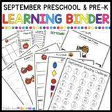 September Circle Time Printables- Preschool and Pre-K Lear