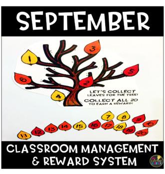 September Classroom Management and Reward System