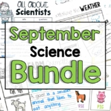 """September """"Click and Print"""" Science Bundle"""