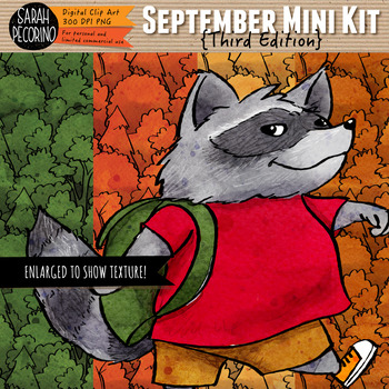 September Clip Art and Mini Design Kit {Third Edition}