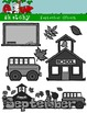 September Clipart / Graphics and Monthly Header 300dpi Col